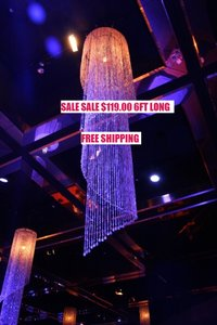 Clear Iridescent Chandelier 6ft Tall Beads Chandelier Special Event Chandelier Canopy/Chuppah