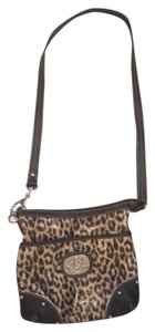 Kathy Van Zeeland Over Cheetah Cheetah Cross Body Bag