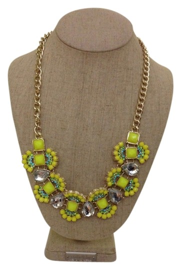 Other Yellow Statement necklace