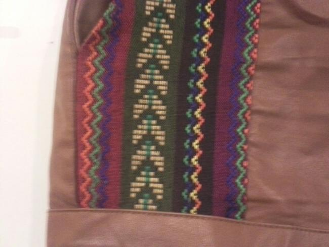 Flying Tomato Foreign Exchange High Waisted Shorts brown Image 1