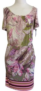 Mystique Aura short dress Purple Multicolor on Tradesy