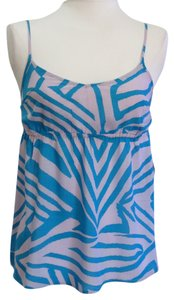 Volcom Blue/Gray Halter Top