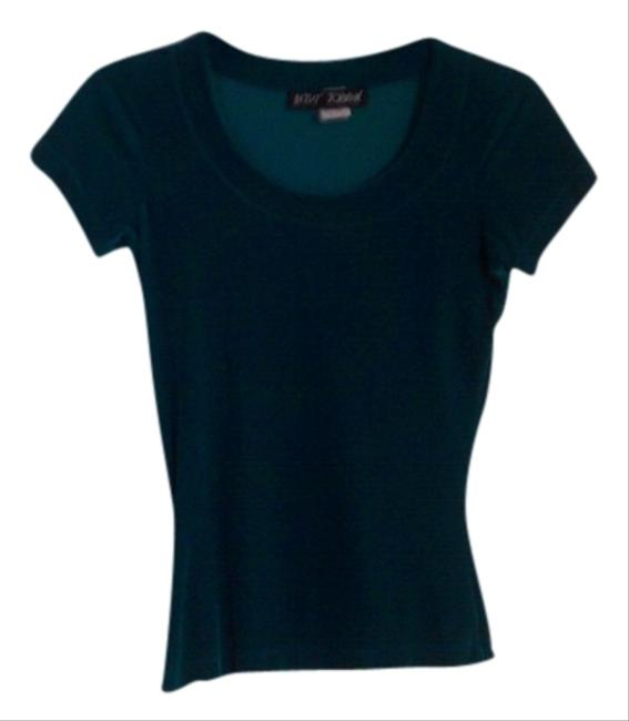 Betsey Johnson Top Turquoise