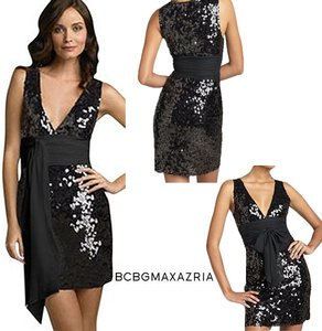 BCBGMAXAZRIA Night Out Wedding Sparkle Dress