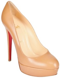 Christian Louboutin Bianca Beige, Tan Pumps