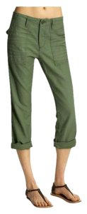 AG Adriano Goldschmied Capris safari green