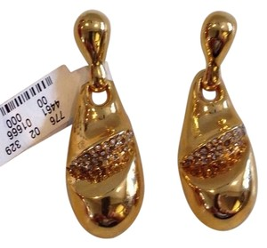 Alexis Bittar ALEXIS BITTAR NWT GOLD AND CRYSTAL DROP EARRINGS