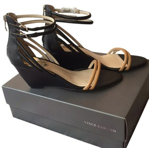Vince Camuto Black / Outback Wedges