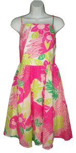 Lilly Pulitzer short dress Cotton Full Skirt on Tradesy