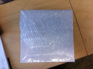 Silver 50_new In Package Square Envelopes with Metallic Finish