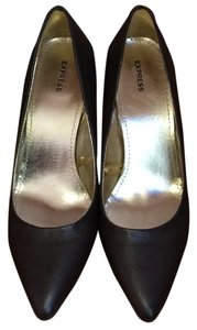 Express Brown Pumps