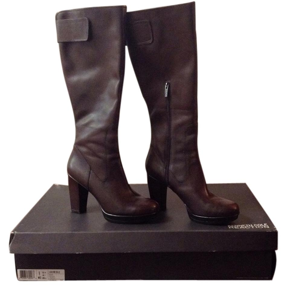 Kenneth Cole Brown Lead On Me On Lead Boots/Booties b9fadd