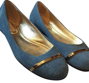 Jimmy Choo Denim blue Flats