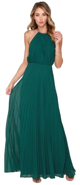 Item - Green (N/A) Long Formal Dress Size 8 (M)