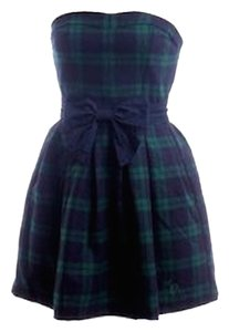 Abercrombie & Fitch Mini Plaid Holiday Fall Dress