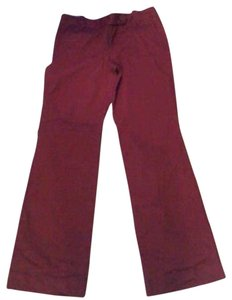 Ann Taylor Boot Cut Pants red