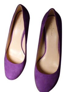 Cole Haan Purple Suede Pumps