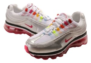 Airmax White with raindow Athletic