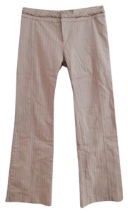 YA-YA Boot Cut Pants Beige