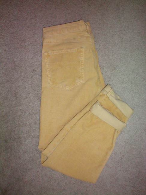 Item - Yellow Corduroy Boyfriend/ Pants Size 4 (S, 27)