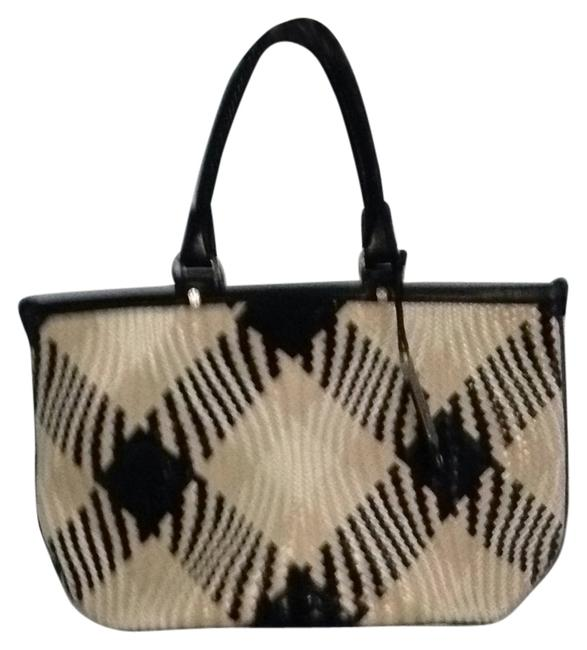 Item - Multicolor Woven Leather Tote