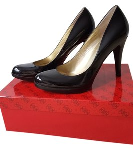 Guess Platform Black Pumps