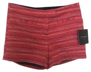 Cynthia Rowley Dress Shorts Dark Pink / Red