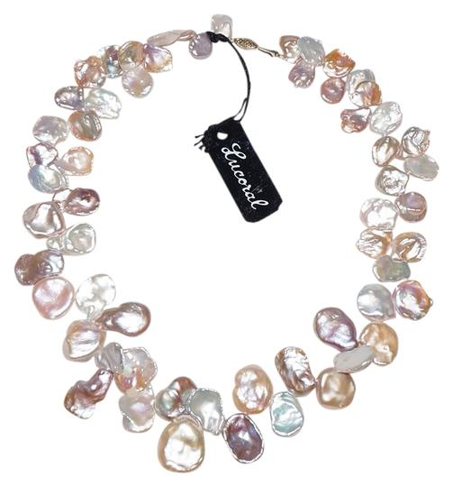 Preload https://img-static.tradesy.com/item/701986/multicolor-14k-gold-cultured-blister-keshi-pearl-bead-cream-peach-pink-necklace-0-0-540-540.jpg