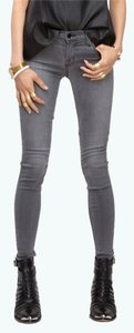 J Brand Denim Fitted Skinny Jeans-Distressed