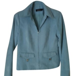 Tribal Ultra Suede Powder Blue Blazer