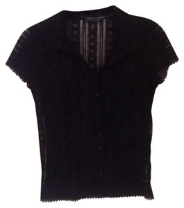 Banana Republic Top Blac