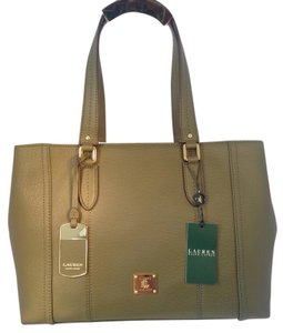 Ralph Lauren Tote in Olive Green
