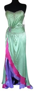 Party Time Formals Prom Sparkle Strapless Dress