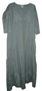 green sage Maxi Dress by Soft Surroundings