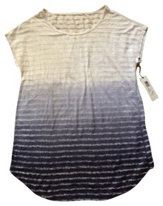 Calvin Klein Performance Striped Dip Dye Burnout Tee PF5T3511