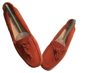 TOD'S moccassins/ loafers Orange Flats