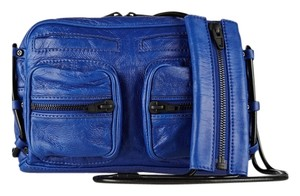 Alexander Wang Brenda Textured-leather Blue Brenda Chain - Nile Shoulder Bag
