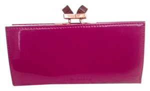 Ted Baker Hot Pink Clutch