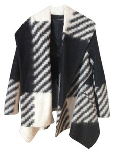 Zara Blanket Blanket Coat Wrap Jacket