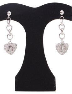 Dior Christian,Dior,Limited,Edition,Heart,Earrings