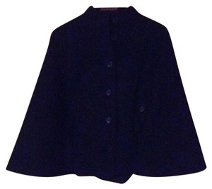 Tommy Hilfiger Cashmere Wool Poncho Cape