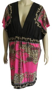 Jamie Nicole short dress Pink/Black Multi on Tradesy