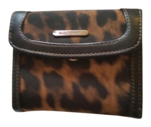 Nine West Nine West Leopard Small Wallet
