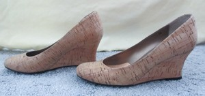 Vaneli Cork Lightweight Natural Cork Wedges