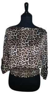 Michael Kors Top Leopard