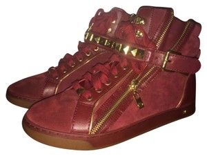 3c462c9d1a7c9 Red Michael Kors Sneakers - Up to 90% off at Tradesy