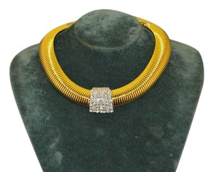 "Nolan Miller Nolan Miller Glamour Collection "" Main Attraction "" Necklace Omega"