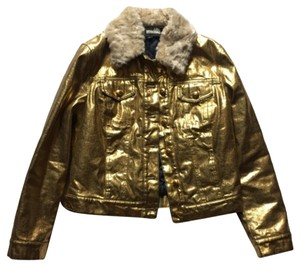 Love Moschino Leather Fur Motorcycle Jacket