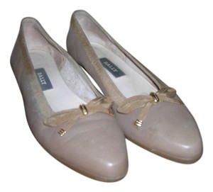 Bally Belle Wedge Made In Italy Taupe Wedges
