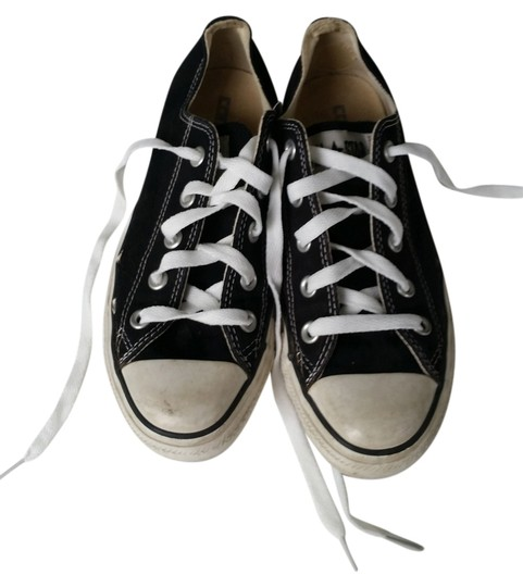 Converse All Star Chuck Taylor Low Tops Black Athletic